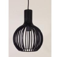 Fiorentino Guarin Small 1 Light Wood Pendant