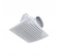 Ventair Jet - 295mm Cut-out - High Airflow Side Ducted Exhaust Fan - White