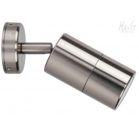 Havit HV1285 240v Titanium Single Adjustable Wall Pillar Light