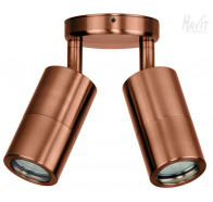 Havit HV1317GU10T Tivah Solid Copper TRI Colour Double Adjustable Wall Pillar Light