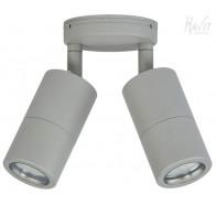Havit HV1345T Tivah Silver TRI Colour Double Adjustable Wall Pillar Light