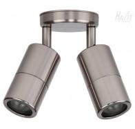 Havit HV1387MR16T Tivah Titanium Aluminium TRI Colour Double Adjustable Wall Pillar Light