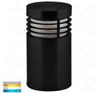 Havit HV1605T-BLK-240V Mini Black TRI Colour LED Bollard Light