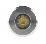 Havit HV2881-SLV Elite Silver Aluminium LED Deck or Inground Light