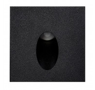 Havit HV3215-BLK Reces Black Square Recessed LED Step Light