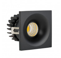 Havit HV5701-BLK Niche Black Square Mini 3w LED Downlight