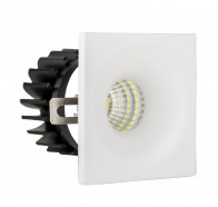Havit HV5701-WHT Niche White Square Mini 3W LED Downlight