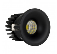 Havit HV5702-BLK Niche Black Round Mini 3W LED Downlight
