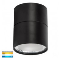 Havit HV5803T-BLK-EXT Nella Black Surface Mounted TRI Colour 12w LED Downlight with Extension