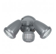Telbix Illume LED Double Adjustable Exterior Spotlight with Flood Light Sensor