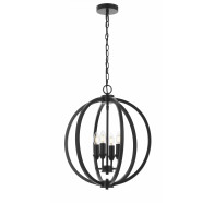 Telbix Kendall 4 Light Pendant Light