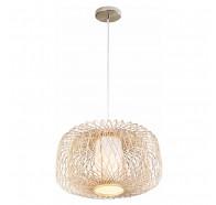 V & M Kuto Bamboo Pendant Light 60x35cm Large