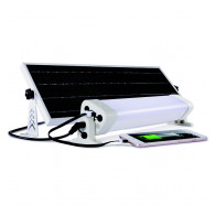 Martec Solar Powered 24W LED Batten Light Kit