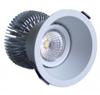 Martec Module 10W Cool White Dimmable LED Downlight Kit in White