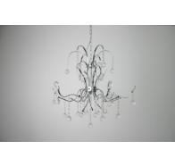 Fiorentino Medusa 12 Light Chrome Crystal Pendant