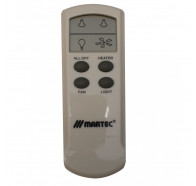 Martec Bathroom Heater LCD Remote Control Kit