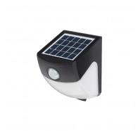 Martec Atlas 3W Solar Wall Light with PIR Sensor