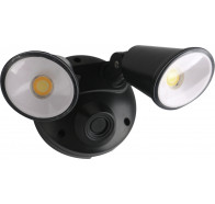 Martec Defender 20W Tri Colour LED Twin Exterior Security Light