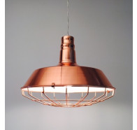 Fiorentino Nevada - 1L Copper 1 Light Pendant