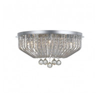 Telbix Pintor 9 Light Flush Mount Close to Ceiling Light