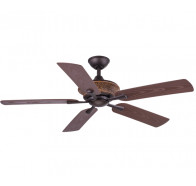 "Hunter Pacific Majestic ReZin 52"" Oriental Indoor/Outdoor Polymer 5 Blade Ceiling Fan"