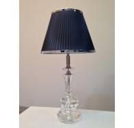 Fiorentino Sorento 1 Light crystal Table Lamp Round Base