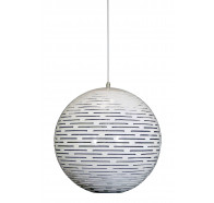 Fiorentino Stark 1 Light White Pendant