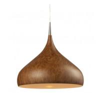 CLA Zara Dome Pendant in Burl Wood