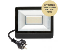 Martec 10W DIY Tricolour LED Security Flood Light