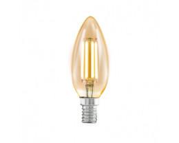 Eglo Candel Decore Amber 4W E14 2700K Vintage Globes