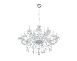 Eglo Basilano 18 Light Pendant Light Chandelier