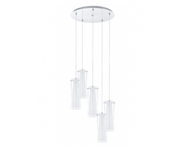 Eglo Pinto 5 Light Round Pendant Light