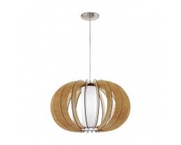 Eglo Stellato Medium 1 Light Timber Pendant Light