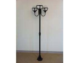 Fiorentino Post Lights in Black Color