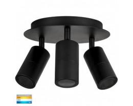 Havit HV4001T-3-BLK-RND Tivah Black 3 Light TRI Colour Round Light
