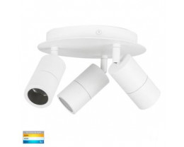 Havit HV4001T-3-WHT-RND Tivah White 3 Light TRI Colour Round Light