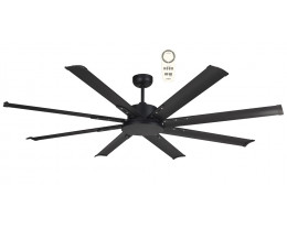 """Martec Albatross Mini DC 1600mm 65"""" 8 Blade Industrial Style Ceiling Fan with Remote"""