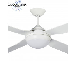 "Martec Coolmaster Liberty 56"" (1400mm) ABS Ceiling Fan with 15W CCT LED Light"