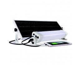 Martec Solar Powered 24W LED Batten Light Kit