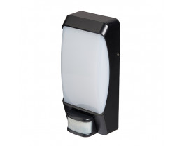 Martec Sonar Tricolour LED Bunker Wall Light with PIR Motion Sensor