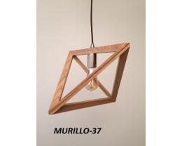 Fiorentino Murillo 1 Light Timber Veneer Pendant