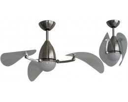 "Martec Vampire 38"" (970mm) ABS Ceiling Fan with 15W CCT LED Light and Remote"