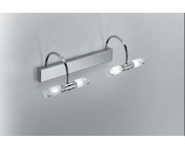 Fiorentino VA3674 4 Light Chrome Vanity Wall Lights