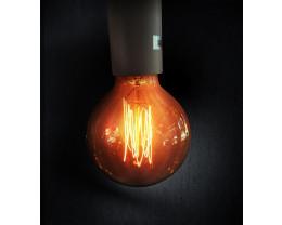 Sphere 125 240V Carbon Filament Lamps